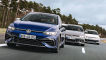 VW Golf R          VW Golf 8 GTI Clubsport        VW Golf 8 GTI Performance 2.0 TSI