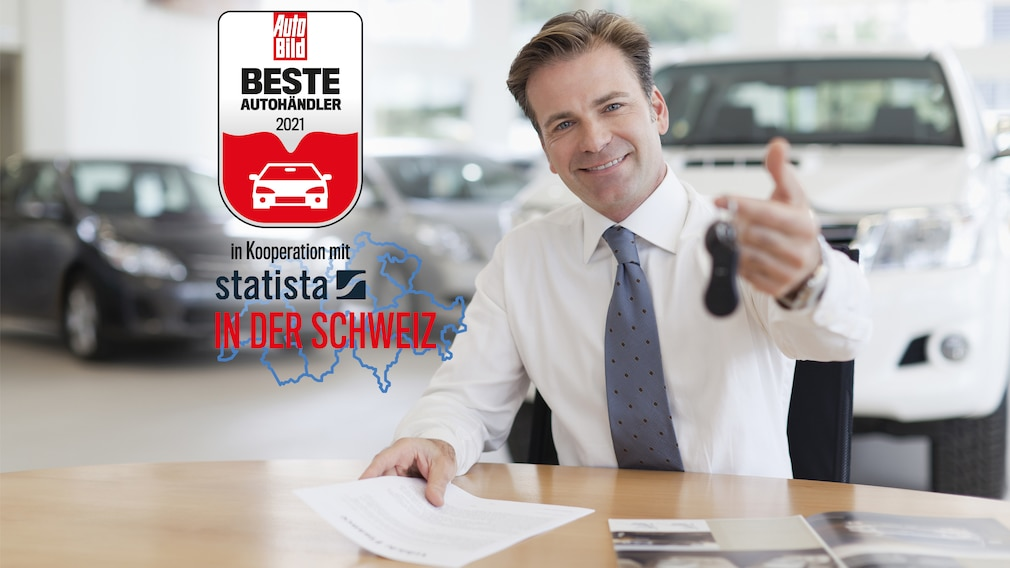 500 beste Autohändler in der Schweiz