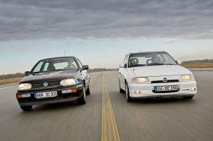 VW Golf 3 VR6 vs. Opel Astra F GSi 16V