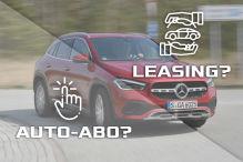 Neues Auto: Auto-Abo oder Leasing?