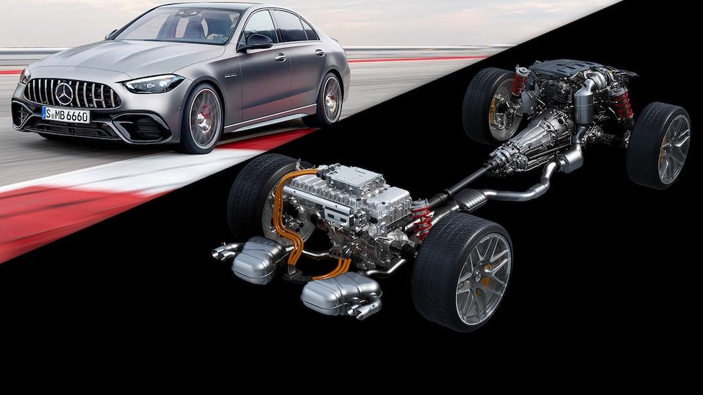 Alle AMG-Modelle werden Plug-in-Hybride