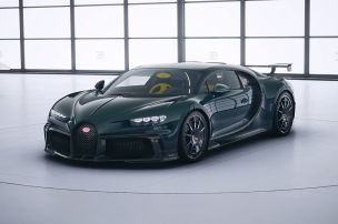 Bugatti-Kunde f�r einen Tag