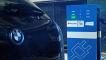 BMW i3 an einer Ladesäule von Charge Now