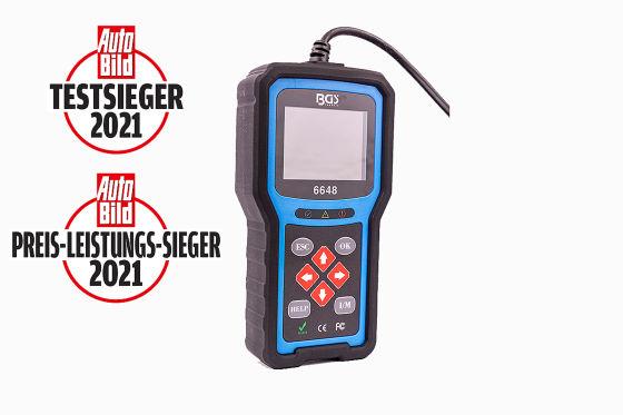OBD2-Diagnosegeräte Test    BAS Technic