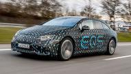 Mercedes EQS 580: Mitfahrt im Prototyp