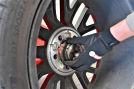 Ford Mustang Reifen Auswuchten