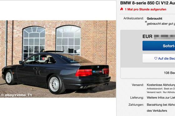 BMW 8-serie 850 Ci V12