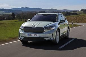 So f�hrt sich Skodas neues E-SUV
