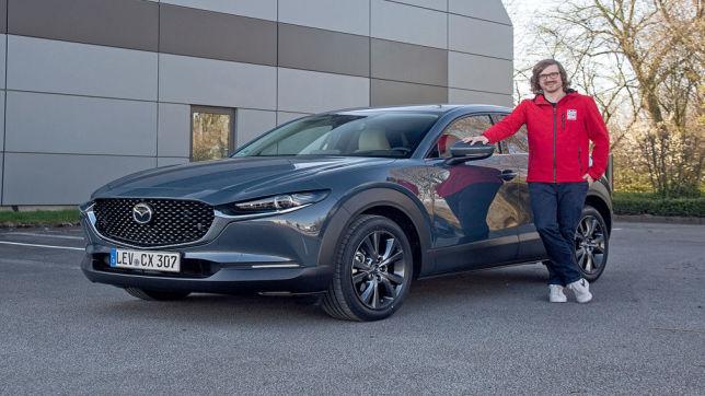 Mazda e-Skyactiv X (2021): erste Testfahrt