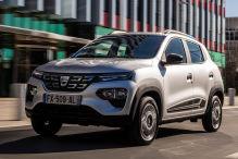 Die erste Fahrt im neuen Dacia Spring Electric
