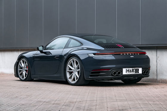Porsche 911 (992) Carrera 2 H&R Gewindefedern