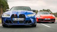 BMW M4, Porsche 911 Carrera S: Test