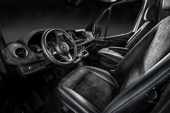 Kegger Mercedes Sprinter - Petronas Edition
