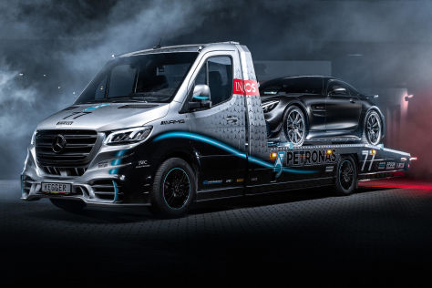Mercedes Sprinter Petronas Edition (2021): Kegger, gebraucht, Preis