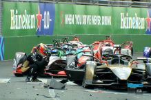 Formel E: Crash in Rom