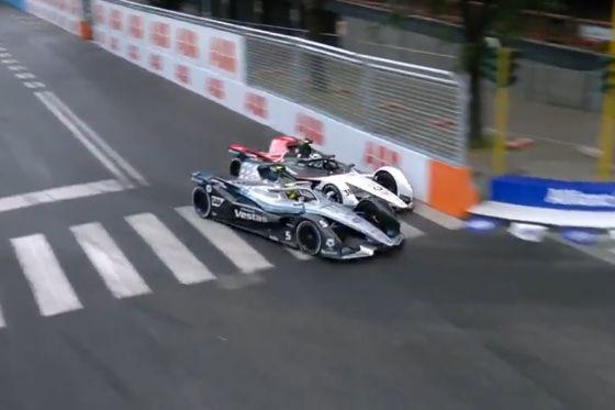 Vergne gewinnt nach Mercedes-Crash und Audi-Aus