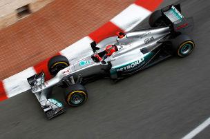 Dieses Schumi-Rennen l�sst Mercedes nicht los