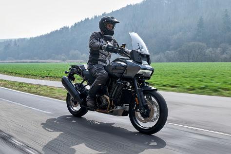 Harley-Davidson Pan America 1250: So fährt die Gelände-Harley - autobild.de