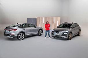 Im Audi Q4 e-tron gibt es Platz wie im Q7