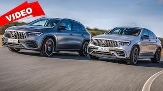 GLA gegen GLC – Duell der AMG-SUVs