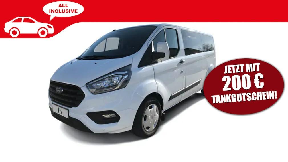 Ford Transit Custom -  Auto Abo All Inclusive mit Tankgutschein