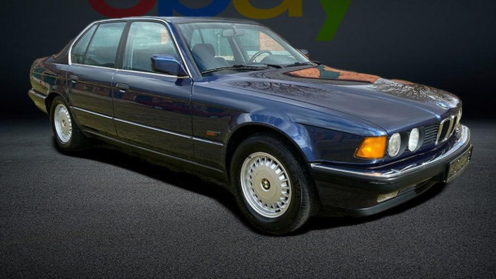 Gepflegter BMW 730i E32 zu verkaufen