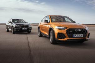 Audi SQ5 TDI, BMW X4 M40d: Test