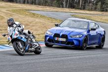BMW M4 trifft auf M1000 RR