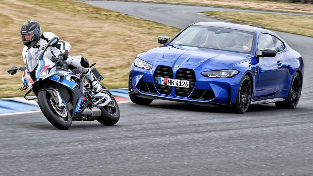 BMW M4 trifft auf M 1000 RR