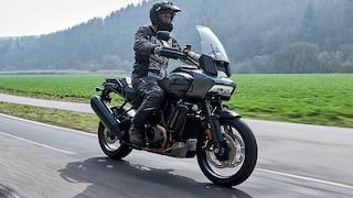 So fährt die neue Gelände-Harley