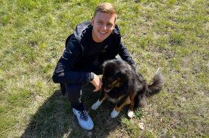 Der nette Mick: Mit Mutter und Hund in Imola