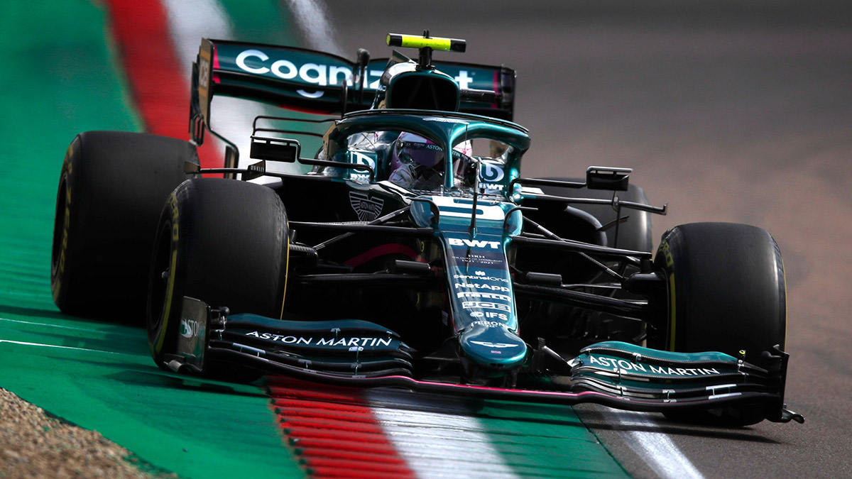 Formel 1: Feuer an Vettels Aston Martin