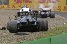 Formel 1: Crash, Bottas, Russell, Imola