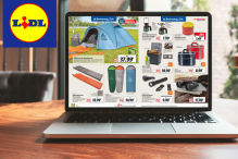 Lidl Prospekt April Aufmacher - Camping