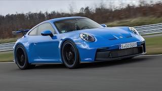 Erste Testfahrt mit dem 911 GT3 auf dem Bilster Berg