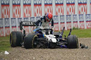 Formel 1: Crash, Imola, Russell, Bottas