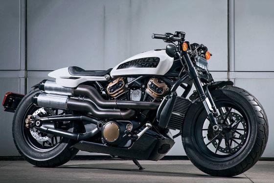 Harley Davidson Custom Concept