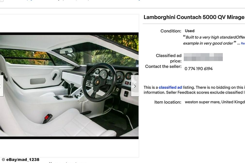 Lamborghini Countach 5000 QV Mirage