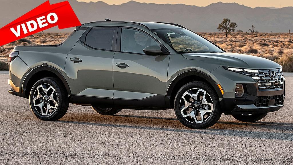 Hyundai-Pick-up kommt mit Tucson-Front