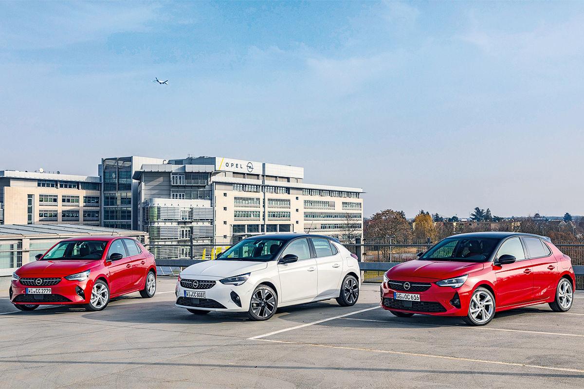 Opel Corsa 1.5 Diesel       Opel Corsa-e     Opel Corsa 1.2 DI Turbo
