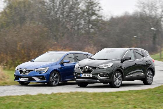 Renault Kadjar   Renault Mégane Grandtour