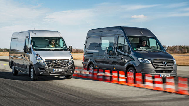 Mercedes Sprinter vs. Opel Movano: Transporter im Test
