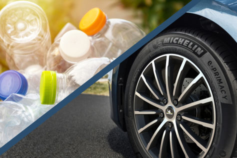 Autoreifen aus PET-Flaschen: Michelin entwickelt Recycling-Reifen - autobild.de