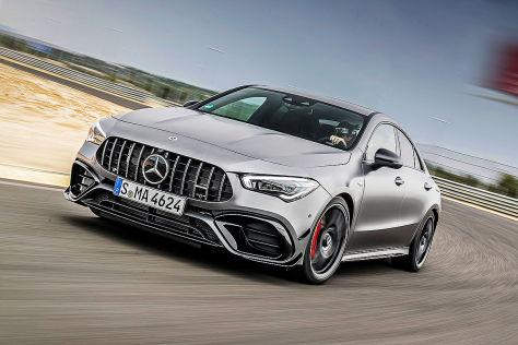 Mercedes-AMG CLA 45 S !! SPERRFRIST 31. Juli 2019  00.01 Uhr !!