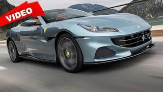 So fährt der Ferrari Portofino M