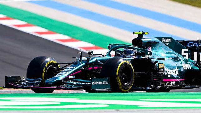 Formel 1: Vettel, Portugal