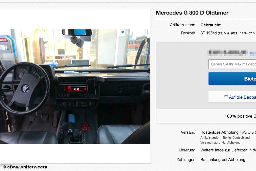 Mercedes G 300 D Oldtimer