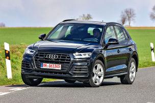 Audi Q5 mit Augenringen