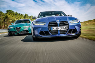 Giulia Quadrifoglio stellt sich neuem M3