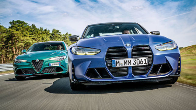Alfa Giulia Quadrifoglio vs. BMW M3 Competition